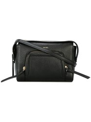 Dkny Chelsea Vintage Cross Body Bag Women Leather One Size Black