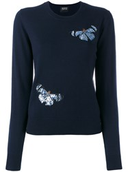 Markus Lupfer Sequin Sweater Blue