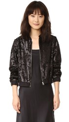 Little White Lies Piper Bomber Jacket Black