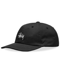 Stussy Sp19 Stock Low Pro Cap Black