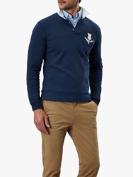 Joules Splendour Long Sleeve Rugby Polo Shirt Navy