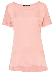 Betty Barclay Short Sleeve Top Pink