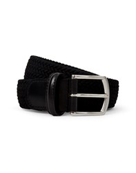 Andersons Anderson's Black Woven Belt Black