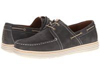 Dunham Chace Navy Men's Lace Up Moc Toe Shoes