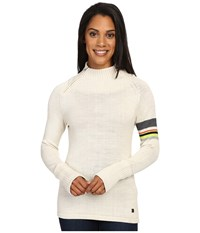 Smartwool Isto Sport Sweater Natural Heather Women's Sweater Beige