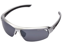 Tifosi Optics Just Gloss Gunmetal Athletic Performance Sport Sunglasses Gray