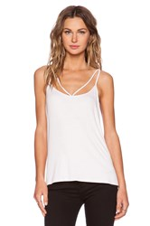 Heather Reversible Strappy Tank Pink