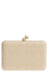 Nordstrom Martinique Crossbody Clutch Brown Natural
