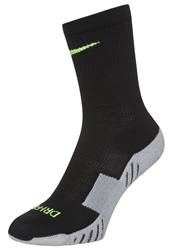 Nike Performance Stadium Crew Sports Socks Schwarz Gelb Black