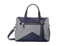 Rafe New York Bryn Satchel Blue Marine Satchel Handbags