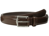 Stacy Adams 30Mm Pinseal Leather Belt X Chocolate Belts Brown