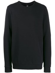 Thom Krom Loose Fit Crew Neck Jumper Black