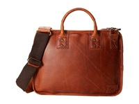 Will Leather Goods Hank Satchel Tan Messenger Bags