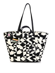 Jerome Dreyfuss Norbert Graphic Print Canvas Tote