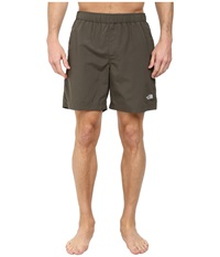 The North Face Class V Rapids Trunk New Taupe Green Men's Shorts Brown