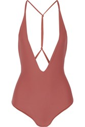 Mikoh Africa Swimsuit Antique Rose