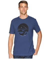 Life Is Good Clear Night Crushertm Tee Darkest Blue T Shirt