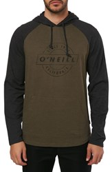 O'neill Mateo Pullover Hoodie Military Green