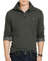 Polo Big And Tall Ribbed Cotton Pullover Green