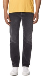 Tom Wood Straight Jeans Washed Black