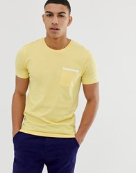 Selected Homme Pocket T Shirt Yellow