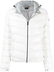 Colmar Lacquered Effect Winter Down Jacket White