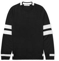 Givenchy Striped Wool Sweater Black