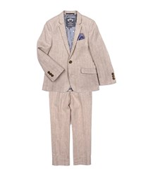 Appaman Boys' Khaki Mod Two Piece Suit