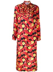 Saks Potts Floral Print Shift Dress