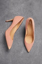 Giuseppe Zanotti Woman Lucrezia 90 Patent Leather Trimmed Suede Pumps Blush