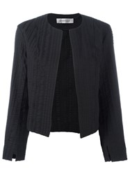 Sportmax Textured Cropped Jacket Black