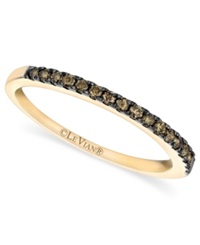 Le Vian Pave Chocolate Diamond Band 1 4 Ct. T.W. In 14K Gold