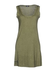 Blauer Short Dresses Military Green