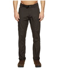Fjall Raven Abisko Shade Trousers Dark Grey Men's Casual Pants Gray