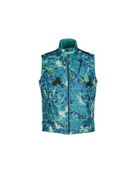Club Des Sports Down Jackets Turquoise