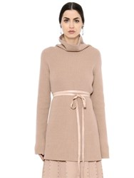 Valentino Wool And Cashmere Turtleneck Sweater