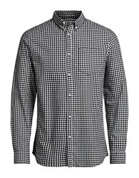 Jack And Jones Jorjames Long Sleeve Gingham Sportshirt Cloud Dancer