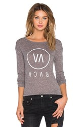 Rvca High End Long Sleeve Top Gray