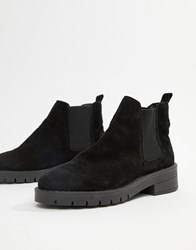 Office Amiee Black Suede Ankle Boot Black Suede