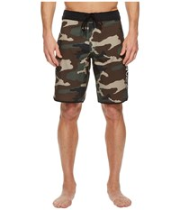 Rvca Eastern 20 Trunk Dark Khaki Swimwear