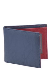 1 Voice The Vault Rfid Blocking Leather Wallet Blue