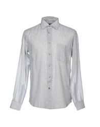 Zegna Sport Shirts Light Grey