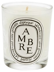 Diptyque 'Ambre' Candle White