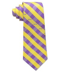 Eagles Wings Los Angeles Lakers Checked Tie Team Color