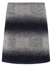 White Stuff Antartica Aline Skirt Winter Blue
