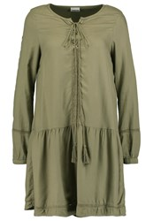 Noisy May Nmfiona Summer Dress Mermaid Khaki