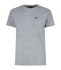 7 For All Mankind Marl T Shirt Male Grey