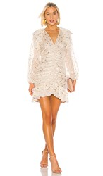 Elliatt Marta Dress In Cream. Ivory