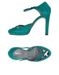 Pennyblack Pumps Emerald Green