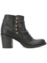 Fiorentini Baker 'Lolly Laverne' Boots Women Leather Rubber 38 Black